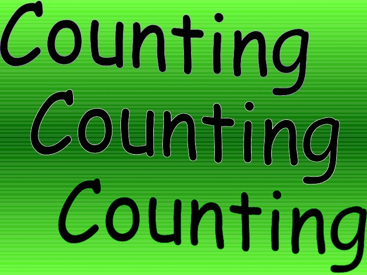 Counting Counting Counting