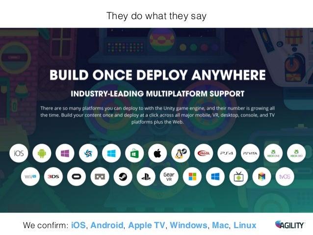Unity C Is Build Run For Mac Posisble On Windows