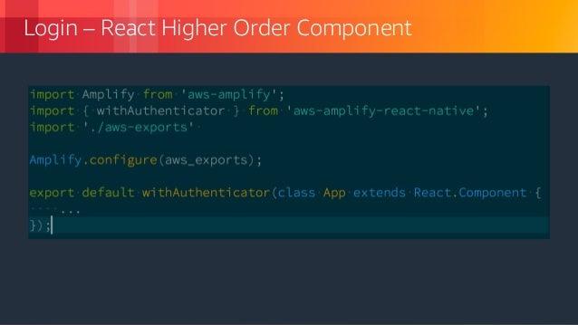 하이브리드 모바일 어플리케이션 개발을 위한 새로운 도구, AWS Amplify