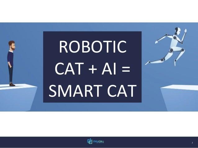 1 ROBOTIC CAT + AI = SMART CAT