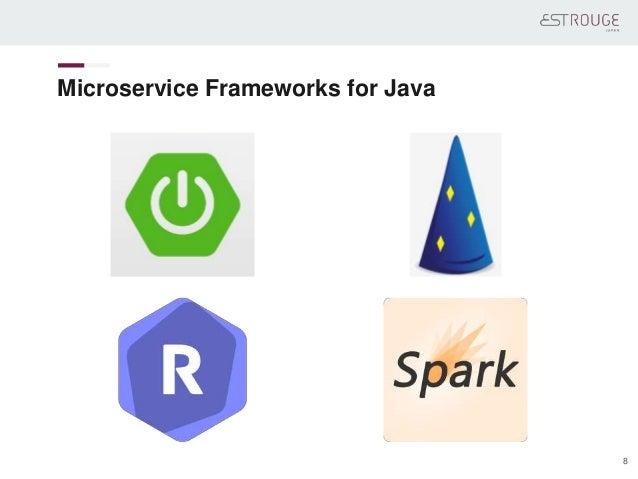 Microservice Frameworks for Java 8