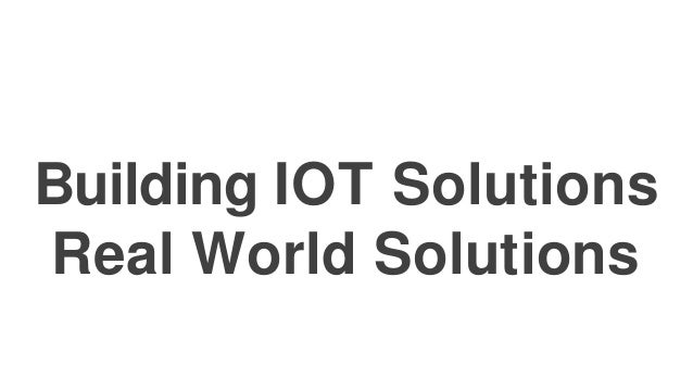 IoT and HealthCare • With an ever-increasing population and expectant longevity of life, optimum management of patients an...