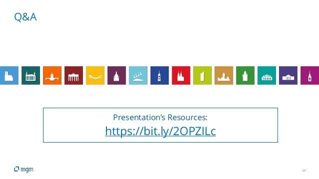 20 Q&A Presentation's Resources: https://bit.ly/2OPZILc