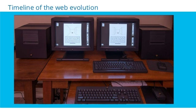 4 Click. Wait. Click. Wait….Mostly…. Timeline of the web evolution Today, …response is everything … Tim Berners- Lee NeXT ...