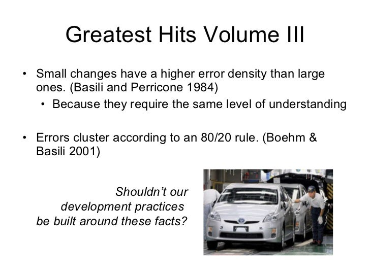 More Than Numbers <ul><li>I focus on quantitative studies because they're what I know best </li></ul><ul><li>A lot of the ...