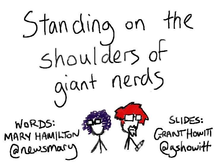 Standing on the Shoulders of Giant Nerds