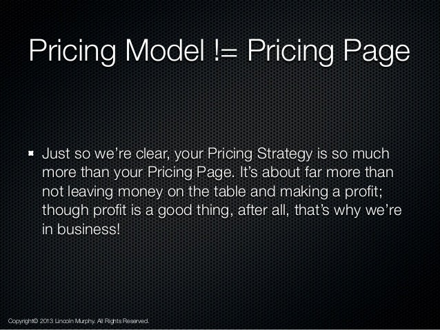 How to Develop Your SaaS Pricing Model Slide 3