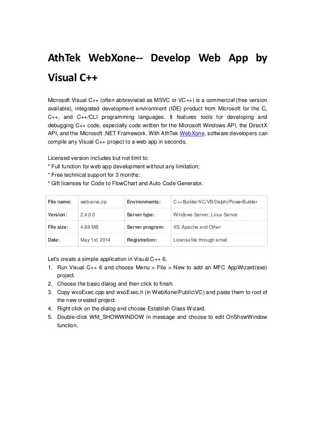 how to develop a software in c++ pdf