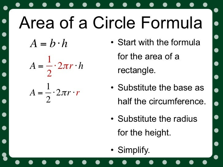 How to Find the Area of a Circle Using Radius