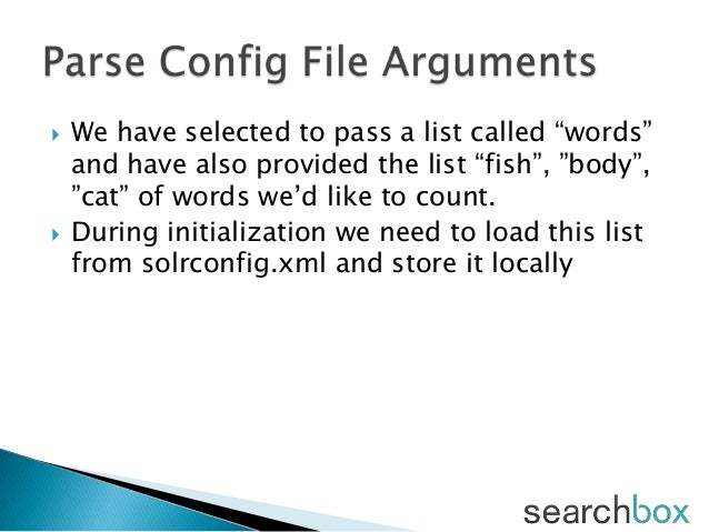 """ We have selected to pass a list called """"words""""and have also provided the list """"fish"""", """"body"""",""""cat"""" of words we'd like to..."""