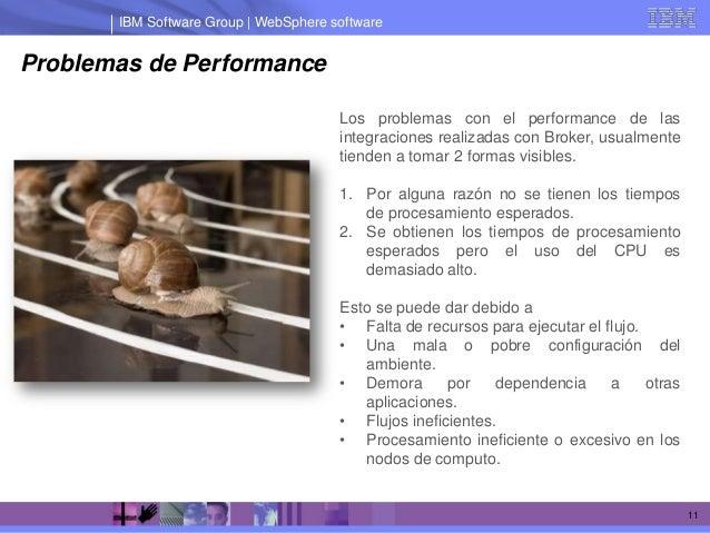 IBM Software Group | WebSphere softwareProblemas de Performance                                       Los problemas con el...
