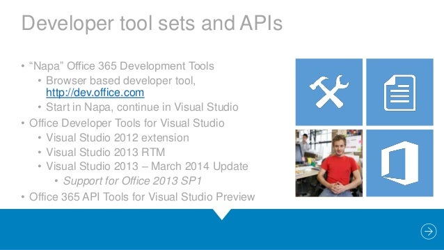 Develop build package and deploy apps for office 2013 - Visual studio tools for office runtime ...