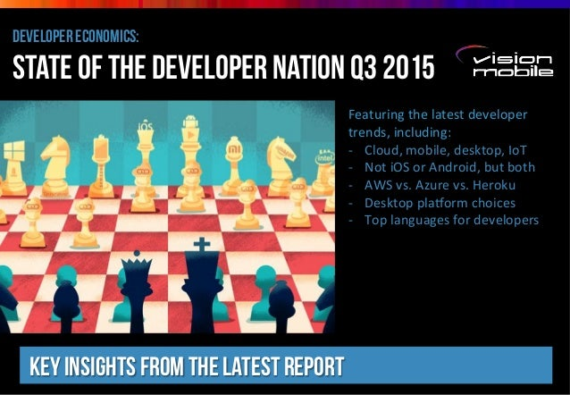 developer economics: state of the developer nation Q3 2015 Key insights from the latest report Featuring*the*latest*develo...