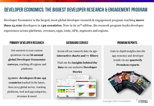 Developer Economics Q3 2015 Key Insights