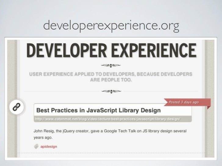 developerexperience.org