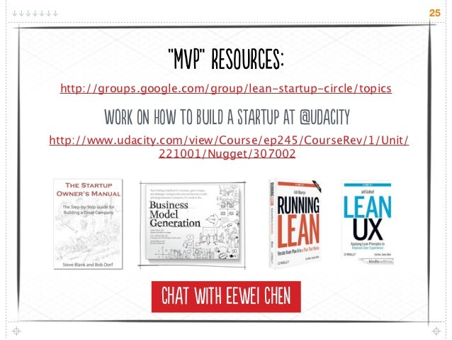"25                   ""V"" rsUre: http://groups.google.com/group/lean-startup-circle/topics        Wok N W o Il..."