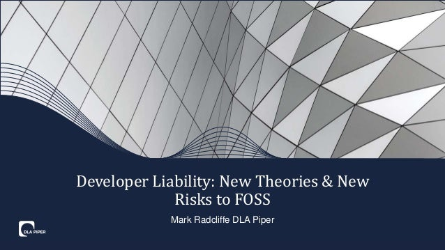 Emerging Theories for Software Developer Liability in FOSS and Blockc…