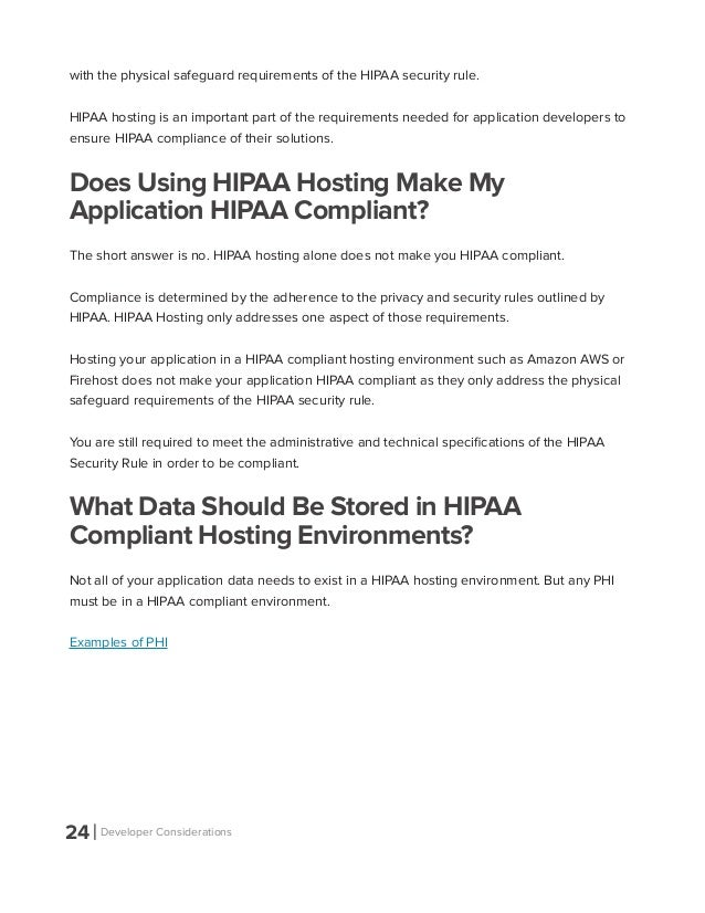 Application Developers Guide To Hipaa Compliance