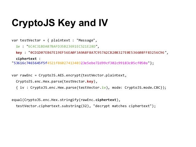 Developer's Guide to JavaScript and Web Cryptography