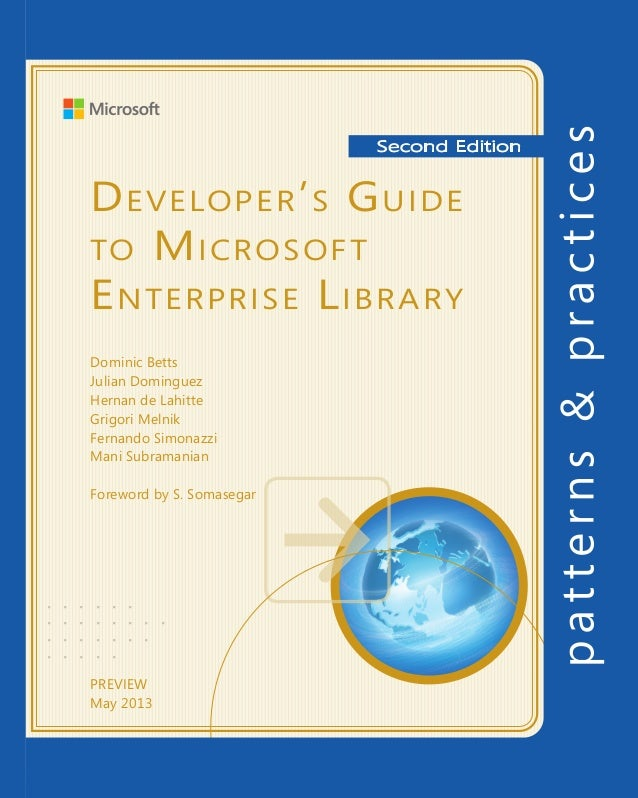 Developing Silverlight®Line of Business ApplicationsFor more information explore:msdn.microsoft.com/practicesSoftware Arch...