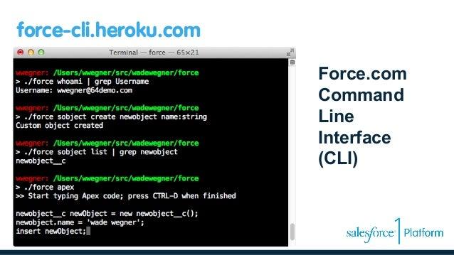 developers guide to the salesforce1 platform rh slideshare net force.com ide developer guide force.com apex code developer's guide