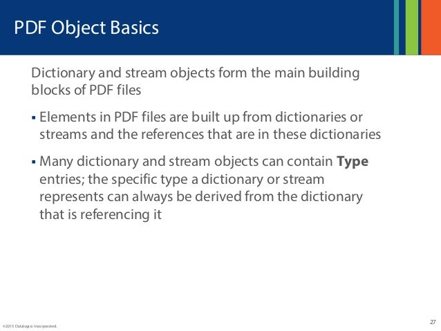 Developers Intro to PDF