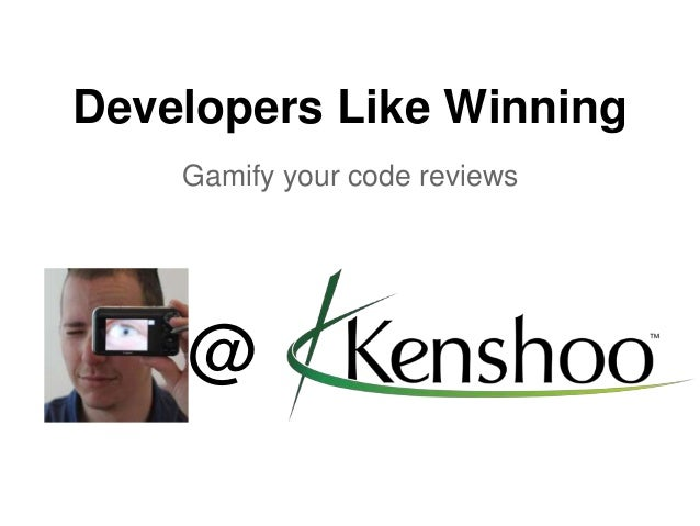 Developers Like Winning Gamify your code reviews @