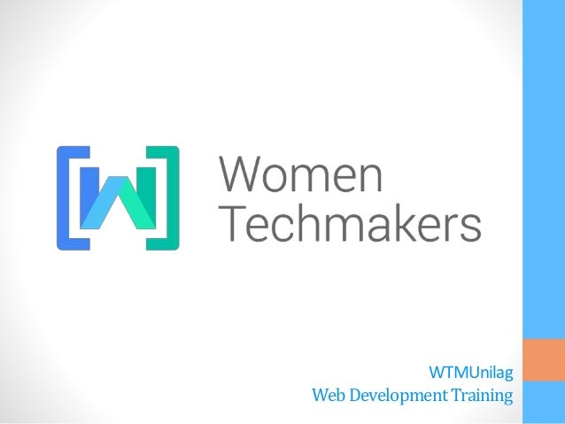 WTMUnilag WebDevelopmentTraining