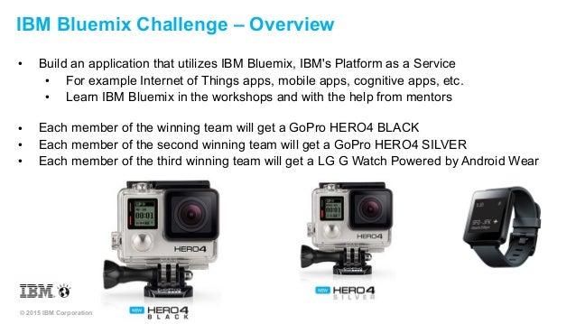DeveloperWeek Hackathon - IBM Bluemix Challenge Slide 2