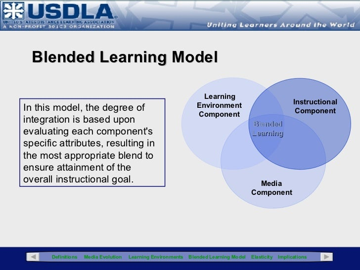 Blended Learning: Instructional Media & Pedagogical Considerations ...