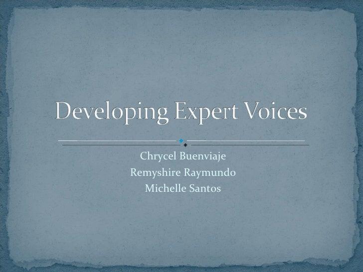 Chrycel Buenviaje Remyshire Raymundo Michelle Santos