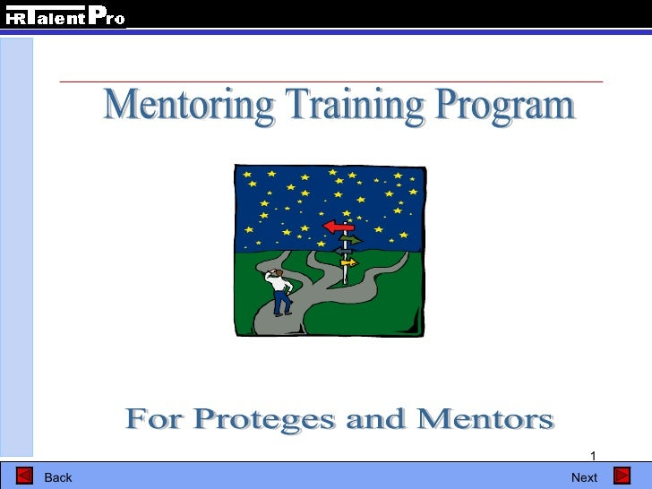 Mentoring Training Program For Proteges and Mentors