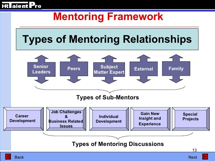To Successful Mentoring Programs