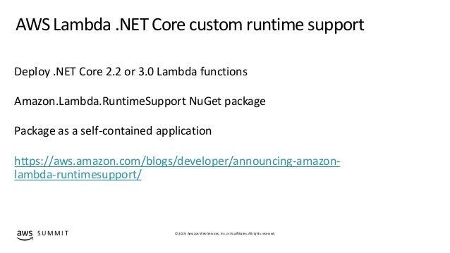 Developing serverless applications with  NET using AWS SDK