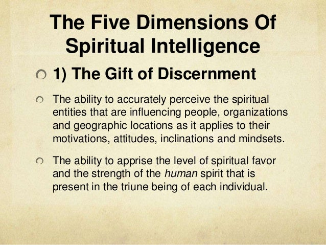the gift of spiritual discernment There are certain believers, however, who have the spiritual gift of discerning spirits—that is, the god-given ability to distinguish between the truth of the word and the deceptive doctrines propagated by demons.