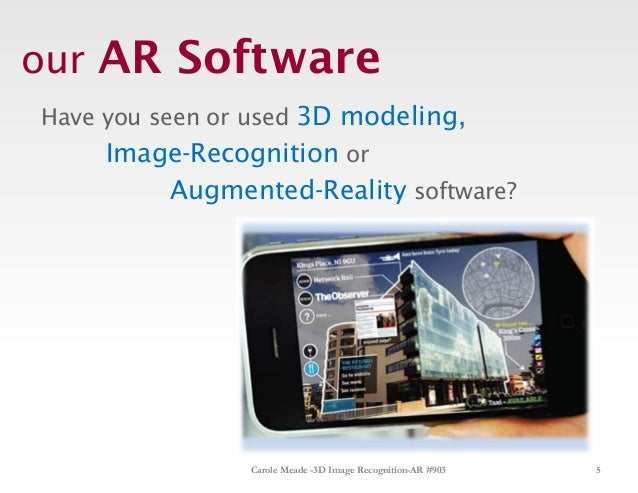 developing 3d image recognition augmented reality training. Black Bedroom Furniture Sets. Home Design Ideas