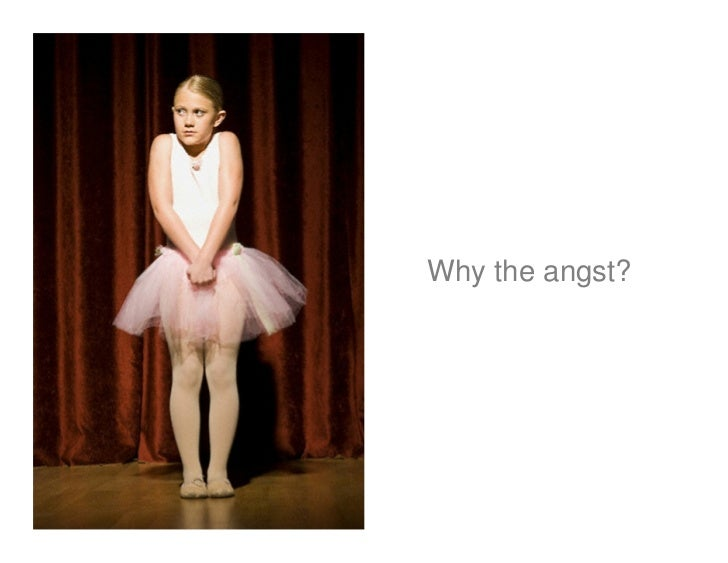 Why the angst?