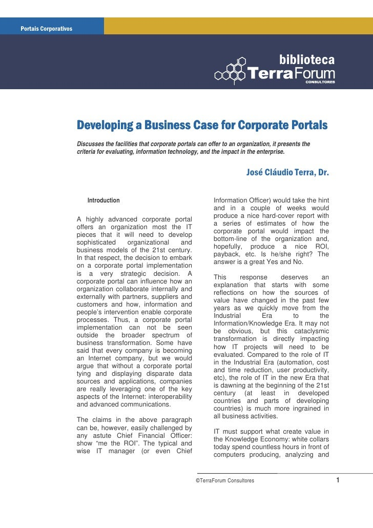 Discusses the facilities that corporate portals can offer to an organization, it presents the criteria for evaluating, inf...