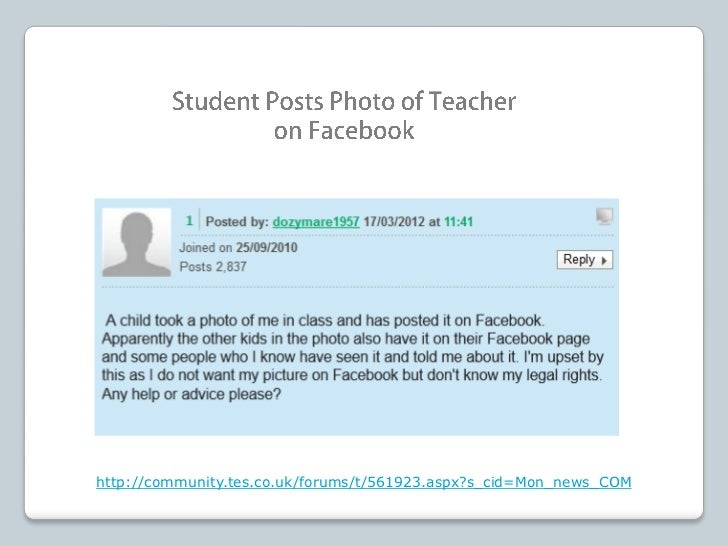 Do students have a First Amendment right to make fun of theirprincipals and teachers on Facebook and other social-mediasit...