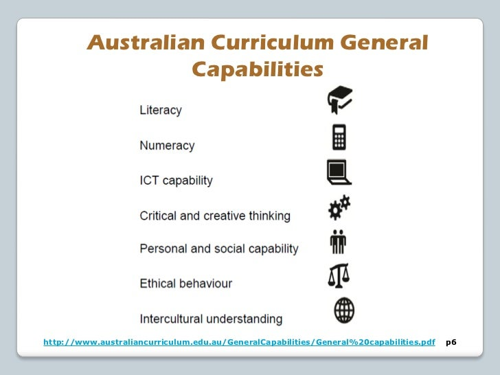 ICT Capabilities in the Australian CurriculumCreating with ICTThis element involves students in using ICT to generate idea...