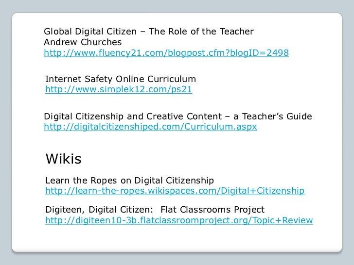 Developing a Digital Citizenship Program