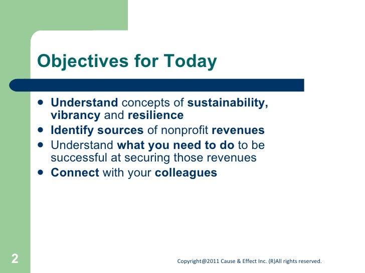 Developing a diverse funding base Slide 2
