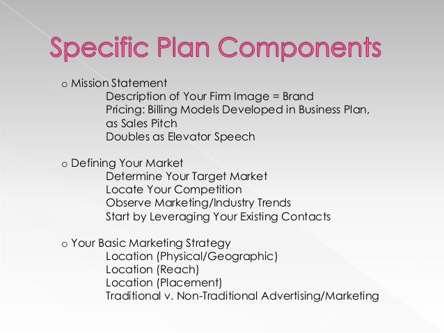 Developing a Law Firm Marketing Plan – Law Office Business Plan