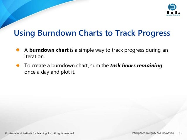 Developing an Agile Schedule in Microsoft Project It is Possible – Ms Project Burndown Chart