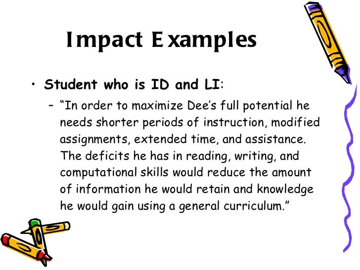 Developing an appropriate standards based iep november 2010