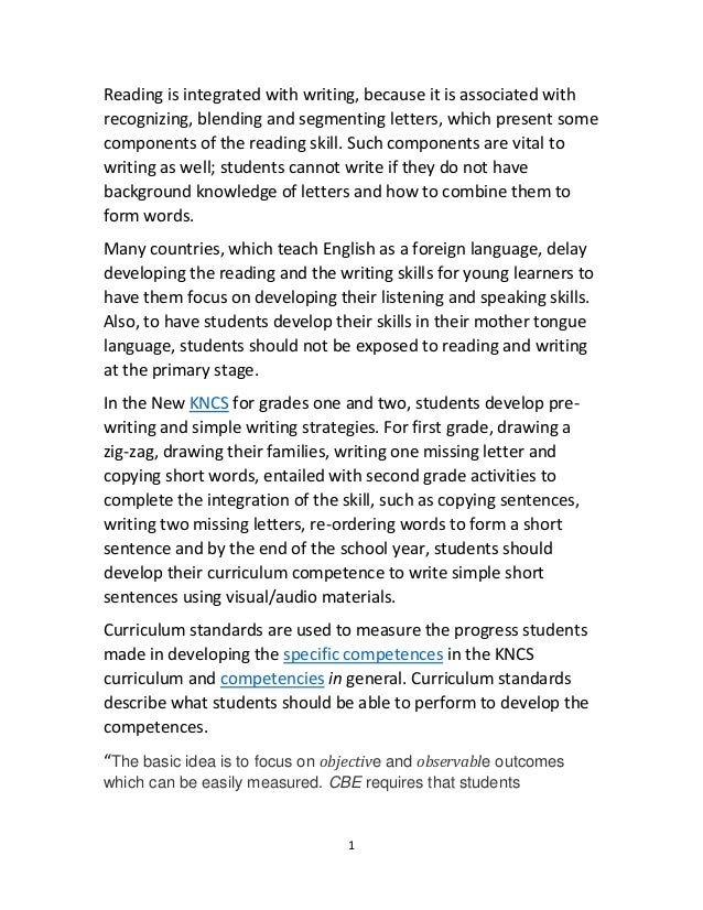 assessing writing skills in a communicative How to enhance your students' communication skills  writing and listening are the  in a survey a lot of educators agreed that technology has enhanced student.
