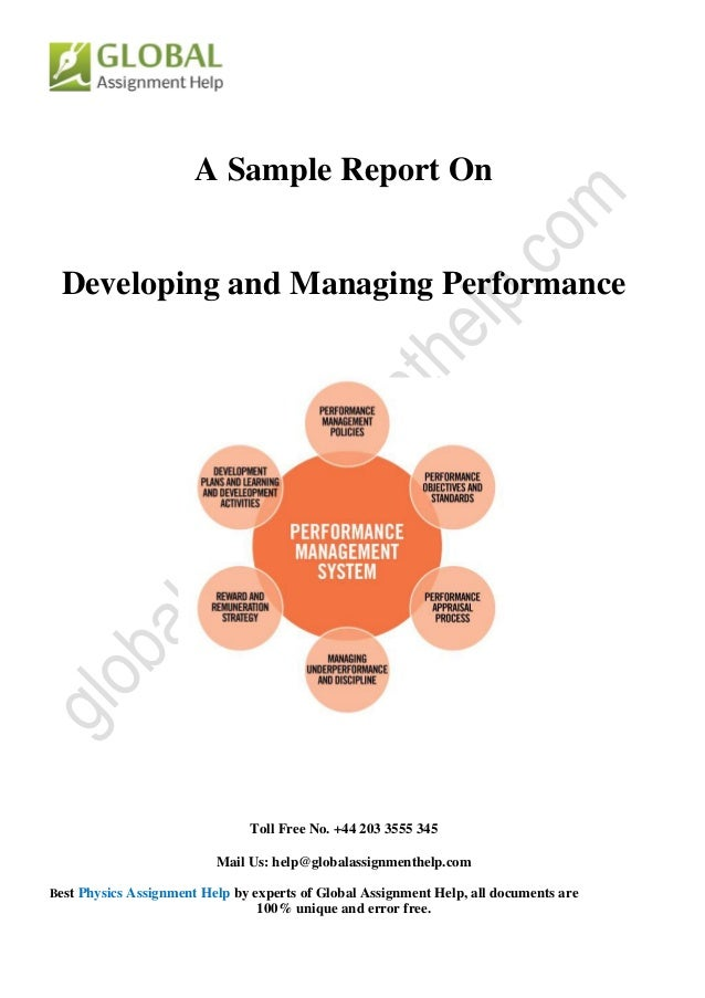 dissertation report on performance management system Performance management dissertation in the report i have analyzed the organization from the perspective of its 'performance management system.