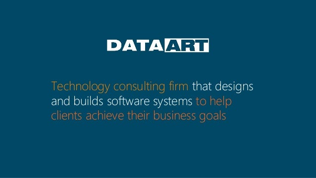 Technology consulting firm that designs and builds software systems to help clients achieve their business goals