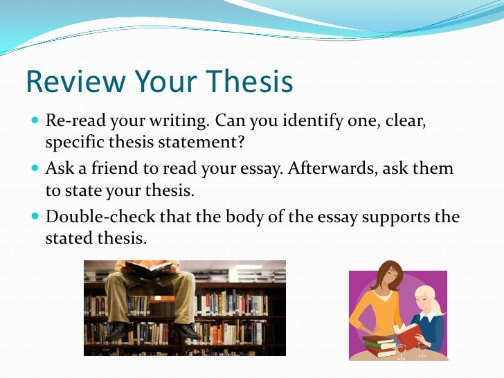 tips for writing an effective thesis statement A thesis statement together in support of your thesis to sum up, a good introduction should: (1) be tips on writing a philosophy paper.