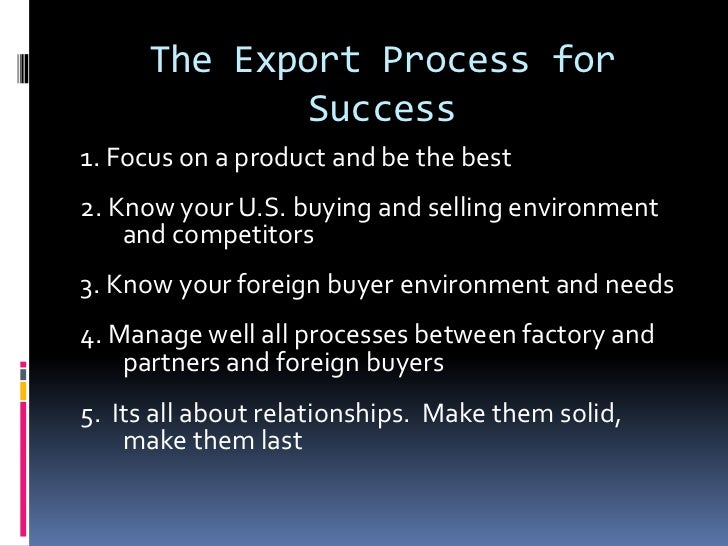 market export strategy We can help you explore markets and develop your strategy for reaching new customers outside northern ireland and we can provide financial support.